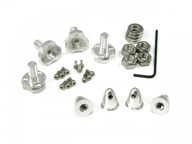 Sunnysky X22 Prop Adapter And Spinner Nut Set Cw Ccw