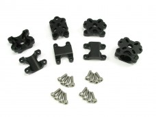 Immersion RC Vortex Aluminum Motor Mount Set - Black